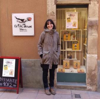 """Presentació de """"Petit, el peix"""" a la llibreria El Petit Tresor"""